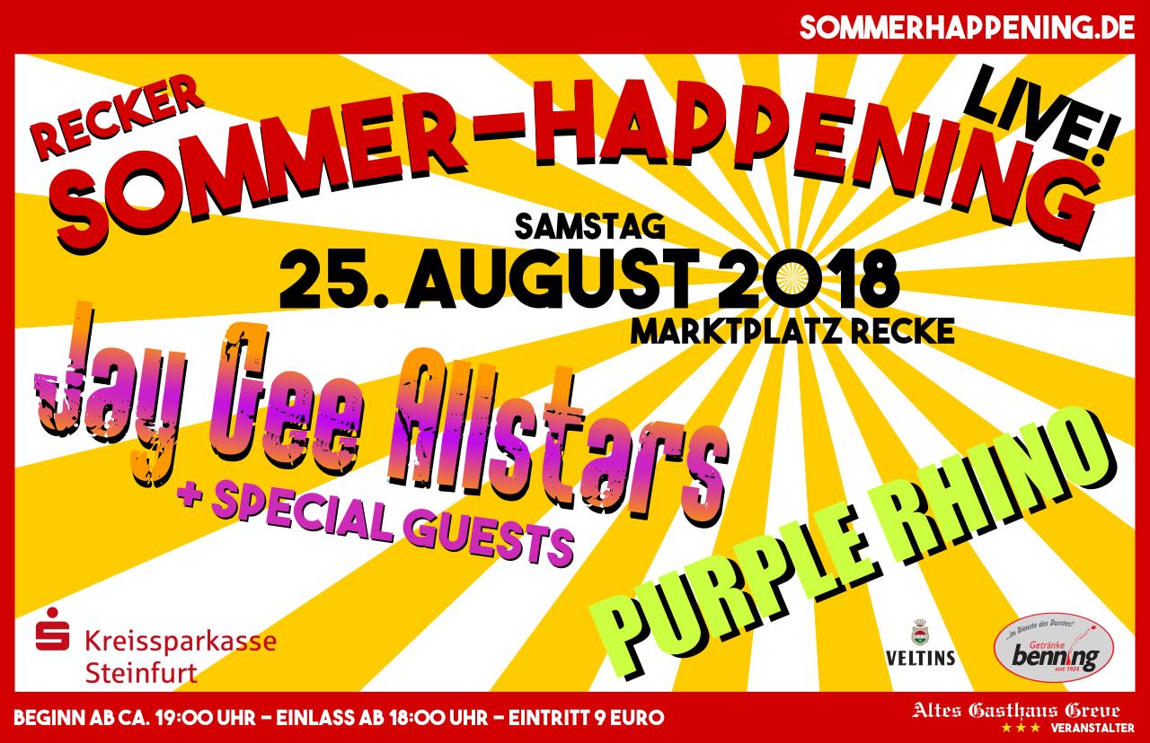 Recker Sommerhappening 2018